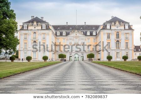 flower garden in Augustusburg Palace, Bruhl, Germany Stock photo © borisb17