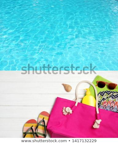 Molo morza wody podróży Zdjęcia stock © dolgachov