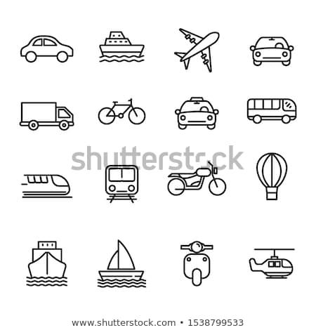 Transport logistique simple léger isolé Photo stock © ukasz_hampel