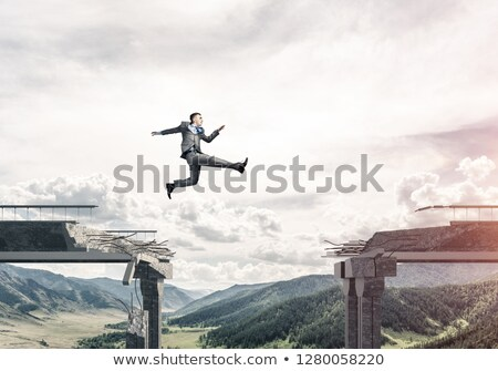 Overcoming Difficulties Concept Stock photo © olivier_le_moal