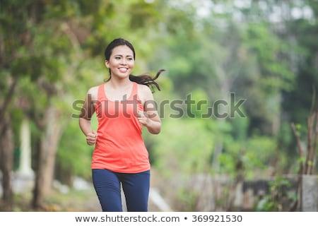 женщину · спорт · фитнес · здоровья · подготовки - Сток-фото © phbcz