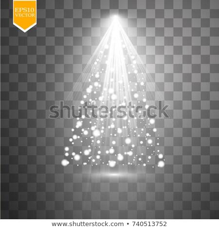 Resumen árbol de navidad partículas wallpaper tarjeta Navidad Foto stock © SArts