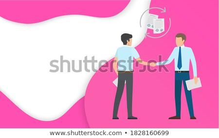 Agreement Social Networking Allows Reach Potential Stock photo © robuart