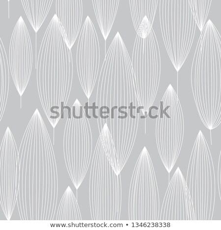 緑 定型化された 葉 シームレス ベクトル パターン ストックフォト © barsrsind