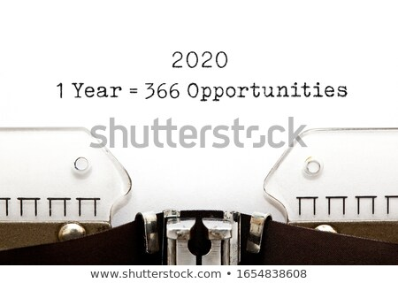 1 Leap Year 2020 Equal To 366 Opportunities Stock photo © ivelin