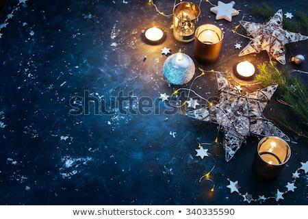 クリスマス 休日 銀 ヴィンテージ 休日 ストックフォト © Anneleven