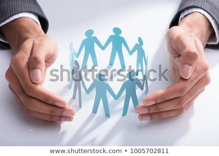 üzlet igazgató kéz alkalmazott férfi támogatás Stock fotó © AndreyPopov
