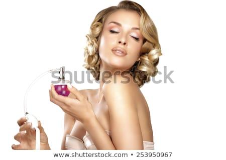makyaj · kozmetik · renk · parfüm · ruj · toz - stok fotoğraf © lordalea