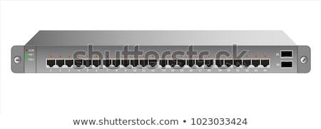 Rack mounted equipment Stock photo © vtls