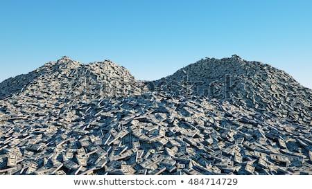 Stock photo: money mountain