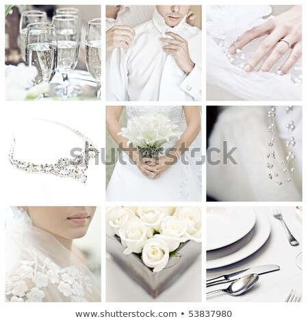 People ring collage Stock photo © Paha_L