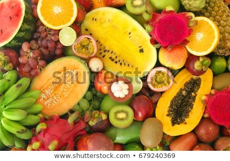 rambutan background, a tropical fruit  Stock photo © dacasdo