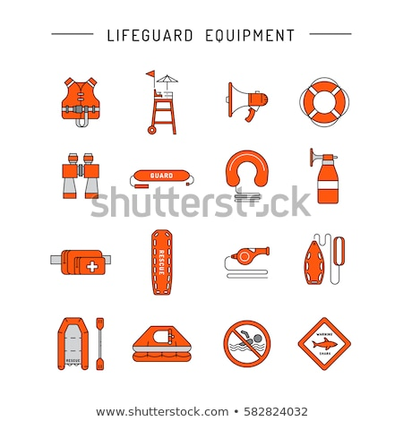 Life guard equipment Stock photo © HerrBullermann