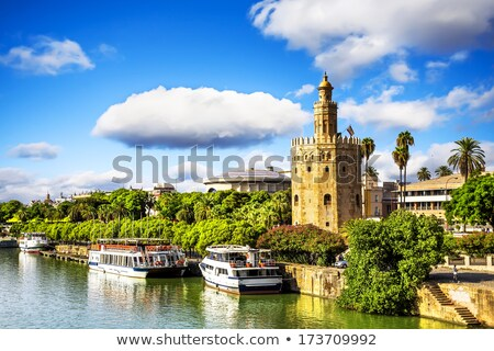 Torre del Oro or Gold Tower in Seville Stock photo © aladin66