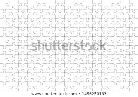 vector jigsaw puzzle stock photo © hermione