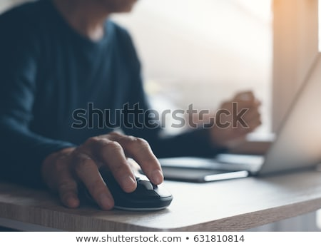 Stock photo: Mouse businessman