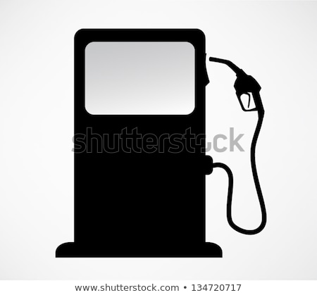 abstract fuel petrol pump handle stock photo © rioillustrator