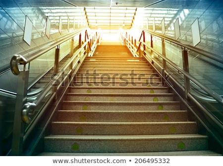Subway stairs. Motion Stock photo © photocreo