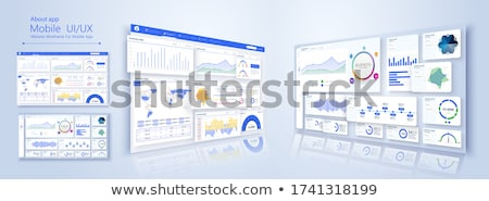 3d forex trading Stock photo © nasirkhan