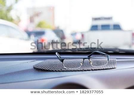 glasses on front panels of car Stock photo © Paha_L