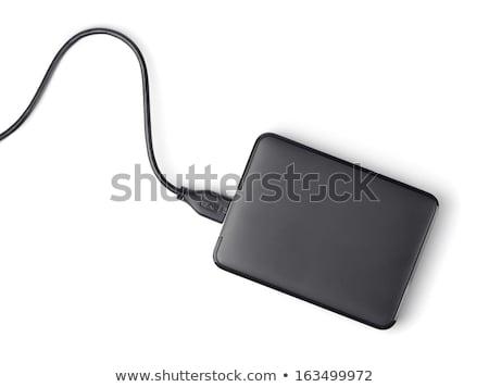 металл · свистеть · прилагается · черный · шнура · белый - Сток-фото © boroda
