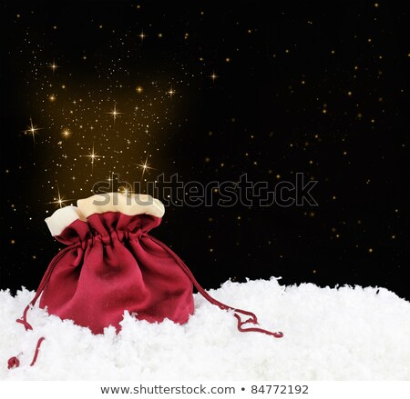 Red Shopping Bag with Sparkle Surprise Stock photo © HaywireMedia
