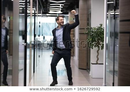 businessman rejoices Stock photo © ambro