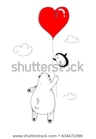 Couple holding a heart case Stock photo © photography33