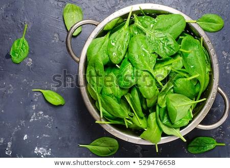 Colander spinach Stock photo © ivonnewierink