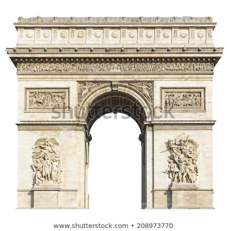 арки триумф подробность Париж Франция Сток-фото © Stocksnapper