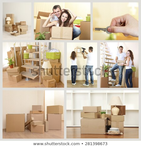 New home themed collage Stock photo © photography33
