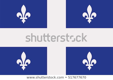 Canadian and the Quebec flag  Stock photo © 3523studio
