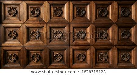 madeira · natureza · projeto · arte · cultura · vaso - foto stock © witthaya