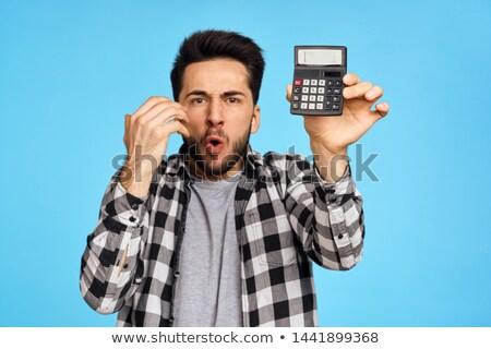 бизнесмен · высокий · бумаги · интернет · время - Сток-фото © wavebreak_media