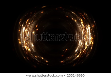 Abstract luci sfondo arancione notte divertimento Foto d'archivio © SSilver