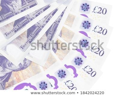 dinheiro · grande · negócio · branco · céu - foto stock © grazvydas