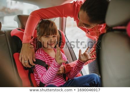 человек сидящий автомобилей синий безопасной Сток-фото © wavebreak_media