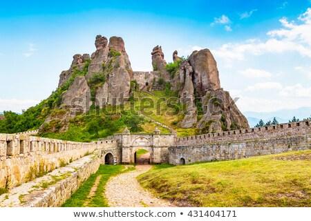 Rocas fortaleza Bulgaria Europa cielo paisaje Foto stock © intsys