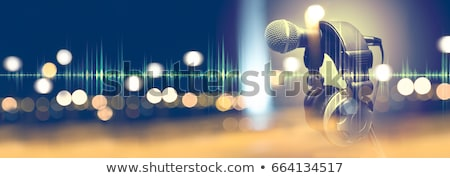 Rock music background Stock photo © artisticco