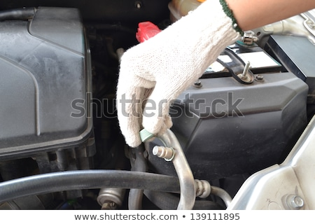 Repaired Compressed air car Stock photo © stoonn