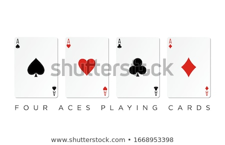 Ace of Hearts Stock photo © creisinger