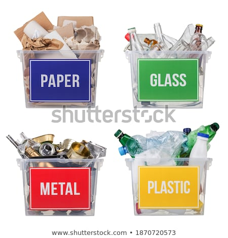 Many Earths in Recycling Basket Stock photo © iqoncept
