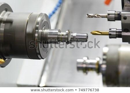 Lathe turning machine Stock photo © papa1266