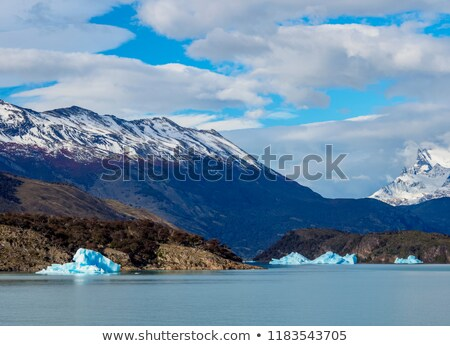山 海岸 湖 パノラマ 公園 アルゼンチン ストックフォト © faabi
