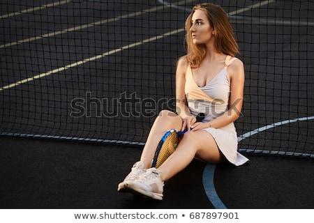sarışın · kadın · portre · çekici · kafkas - stok fotoğraf © dash