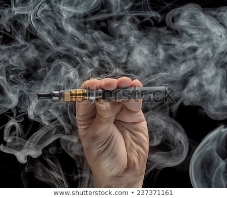 E-cigarette, E-cig Over White Stock photo © olivier_le_moal