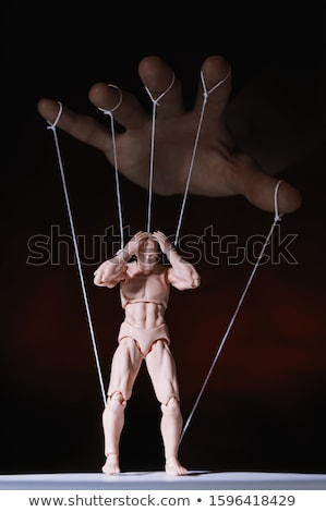 Woman and Marionette Stock photo © piedmontphoto