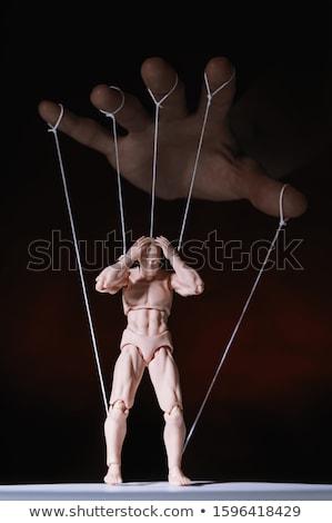 Nő marionett gyönyörű nő kézzel készített vám mexikói Stock fotó © piedmontphoto