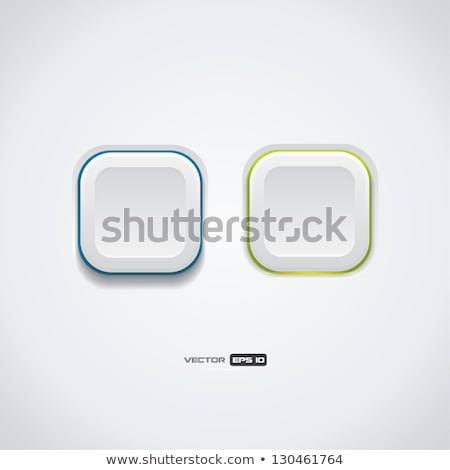 On / off plastic button. User Interface. Stock photo © deomis