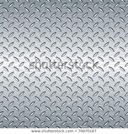 Metal Diamond Plate. Seamless Tileable Texture. Stock photo © tashatuvango